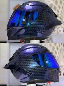 Motorcycle Full Face AGV Helmet Pista GP RR FUTRO Fiberglass Racing New Helmet