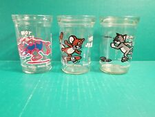 Tom & Jerry Welch's Jelly Drinking Glasses - Turner Entertainment Co.