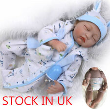 "Sleep 22"" Real Life Like Reborn Doll Soft Silicone Baby Newborn Dolls Xmas Gifts"