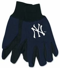 977e166a94883d ... free shipping on orders over 45 overstock 10949034 dc17a 5bdb6;  closeout new york yankees two tone adult size gloves new nfl work hands  scarf hat 9c0fe