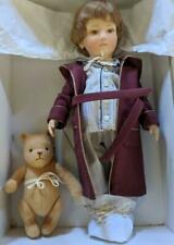 LM R. John Wright Christopher Robin & Pooh Bedtime Winnie Nighttime Doll Bear NW