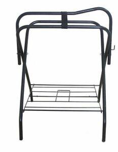 AJ Tack Freestanding Portable Horse Saddle Rack - Single