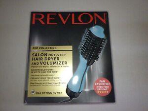 Revlon One-Step Hair Dryer & Volumizer Hot Air Brush, Mint