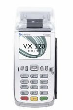 Verifone VX-520 Nero morsetto ROTOLI CARTA TERMICA PDQ Chip and Pin ROTOLI vx520