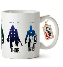 Marvel Avengers Coffee / Tea Mug - Iron Man / Hulk / Thor / Captain America