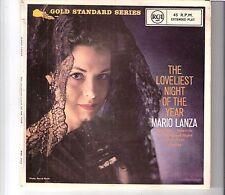 MARIO LANZA - The loveliest night of the year