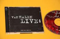 2CD (NO LP ) VAN HALEN LIVE RIGHT HERE RIGHT NOW ORIG CON LIBRETTO COME NUOVO EX