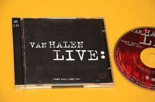 2CD (NO LP ) VAN HALEN LIVE RIGHT HERE RIGHT NOW ORIG CON LIBRETTO COME NUOVO EX