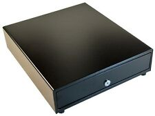 "SQUARE CERTIFIED APG Vasario 14""  Cash Drawer BLACK w/o Media Slots"