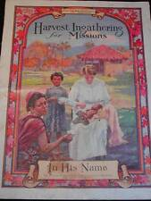 """Antique The Watchman Magazine """"Harvest Ingathering for Missions"""" 20 pgs."""