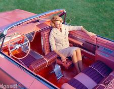 Buick Electra Flamingo 1961 Convertible Interior Color 8 x 10 Photograph