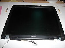 "Complete 15"" lcd assembly with wiring harness,latch, from Toshiba A65/a60 works."