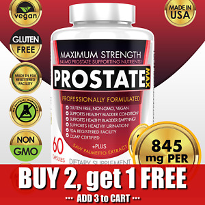 Ultra Pure Prostate Support Supplement w/ Saw Palmetto Prostate Health
