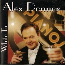 ALEX DONNER: White Tie CD Bucky Pizzarelli, Ronnie Cuber, Leonhart, Jazz/Cabaret
