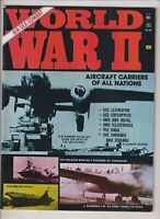 World War II Mag B-25 Bomber & USS Lexington October 1974 021020nonr
