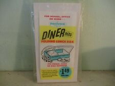 Diner Mite vintage folding lunch box Proven Products (Nibot Corporation) kitsch
