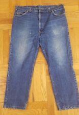 Vtg 80's Levis 509 Jeans Orange Tab Made in Usa Men's Size 38x27 Dark Blue