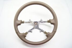 Toyota Camry 1997-2001 Steering Wheel Tan Leather OEM NEW