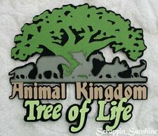 DISNEY TREE ANIMAL KINGDOM Die Cut Title - Scrapbook Page Paper Piece - SSFFDeb
