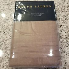New Ralph Lauren King Pillowcases - Modern Icons Roth Taupe 20X36""