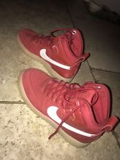 Mens Nike Air Force 1 Duckboot Red UK Size 7