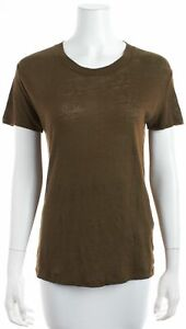IRO Brown T-shirt Sz XS 654188
