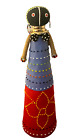 """Ndebele Handmade African Colorful Beaded Ceremonial Doll 18"""" tall"""