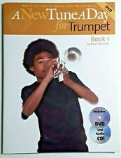 A New Tune A Day For Trumpet, Book 1, w/Cd & Dvd