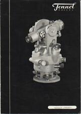 Original Fennel Kassel 4-inch Transit Sales Ad 4-Page - Surveying