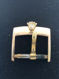 Vintage Ladies Rolex 16mm Gold Plaque Buckle for a 14mm band