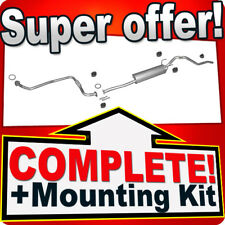 TOYOTA HILUX 2.4 D 80/83HP 1988-1995 Silencer Exhaust System J61A