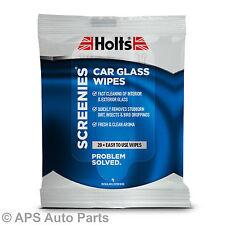 Holts screenies Coche Vidrio 20 Toallitas interior de fácil limpieza elimina suciedad persistente