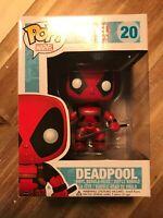 Funko POP Marvel Universe Deadpool Bobble Head Vinyl Figure # 20