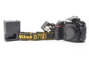 Nikon D750 24.3MP Digital SLR Camera (Body Only) - Black ***192,292 shots***
