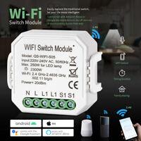 WiFi Smart LED Light Timer Switch APP Remote Control for Alexa Echo Google Home