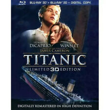Blu-ray 3D + Blue-ray 2D Titanic remastered HD