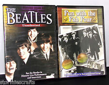 The Beatles Unauthorized DVD and Fun with the Fab Four Rare Footage Historical