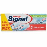 Signal Original Family Protection Toothpaste Twin Pack 100ml 1 2 3 6 12 Packs