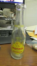 Rochester, N.Y. Monroe Beverages 7 Oz. ACL Soda Pop Bottle New York