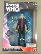 """2012 Doctor Who The Twelfth Doctor Collector Figure 5 1/2"""" Purple shirt! **"""
