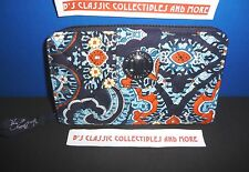 Vera Bradley Turn Lock Wallet In Marrakesh-12 Card Slips, 2 ID Window & More NWT