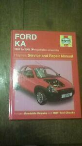 Ford KA Haynes workshop manual