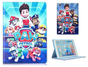 For Apple iPad Pro 9.7'' iPad Air 1-2  New Paw Patrol Anime Kids Case Cover