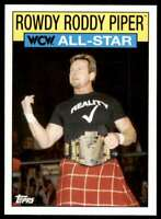 2016 Topps Wwe Heritage Wcw All Star Rowdy Roddy Piper #23