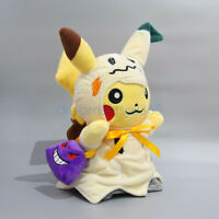 NEW Pokemon Halloween Plush doll Pikachu Mimikyu COS Gengar Figure Toy Kid Gift