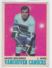 1970-71 OPC ANDRE BOUDRIAS #121
