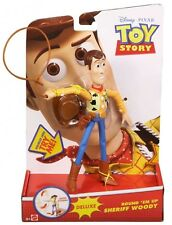 Mattel Disney/Pixar Toy Story Round Em Up Sheriff Woody with Lasso Action ~NEW ~