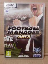 Sega Football Manager 2013 (Mac y PC, 2012) Nuevo y Sellado