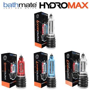 Bathmate® HydroMax 3 5 7 9 WideBoy Penis Pump Enlarger Extender