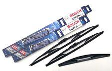 Nissan Juke Front & Rear Wiper Blades Bosch Super Plus SP22/13-RB12 (PE1488)